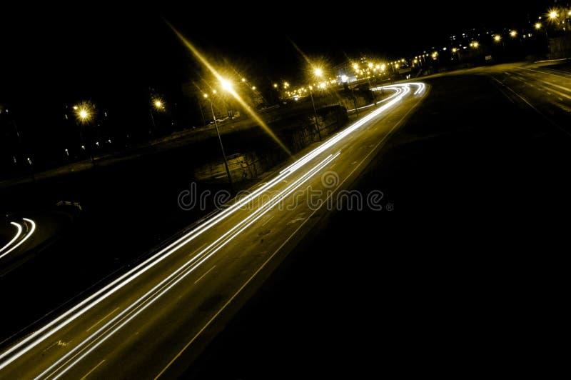 Download Night traffic stock photo. Image of kanal, city, streak - 1387276