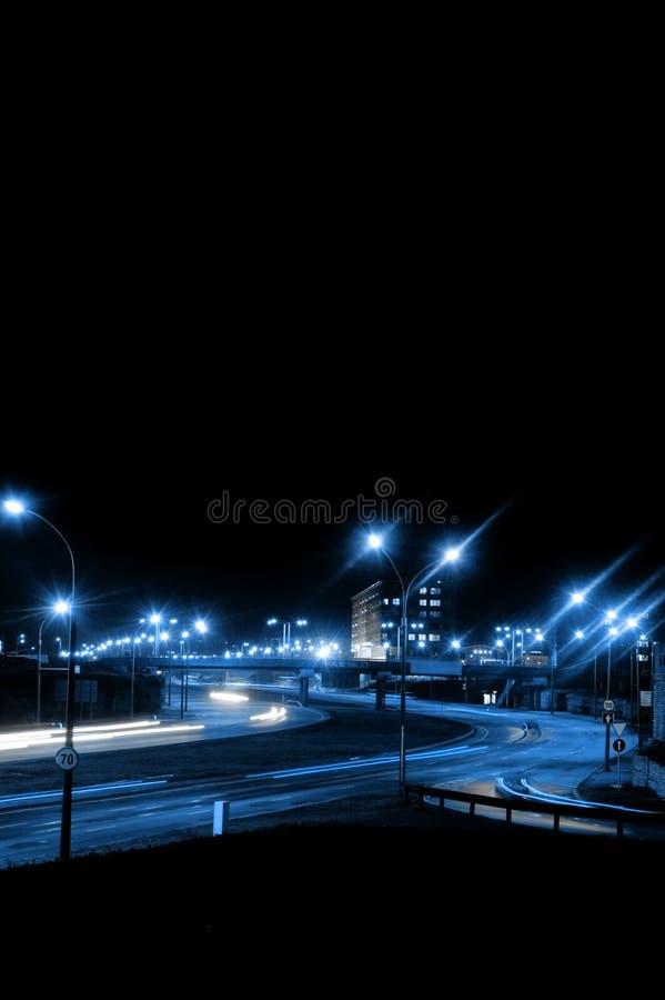 Free Night Traffic Royalty Free Stock Image - 1416116