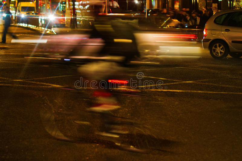Download Night Traffic Scene In London Stock Photo - Image: 24938088