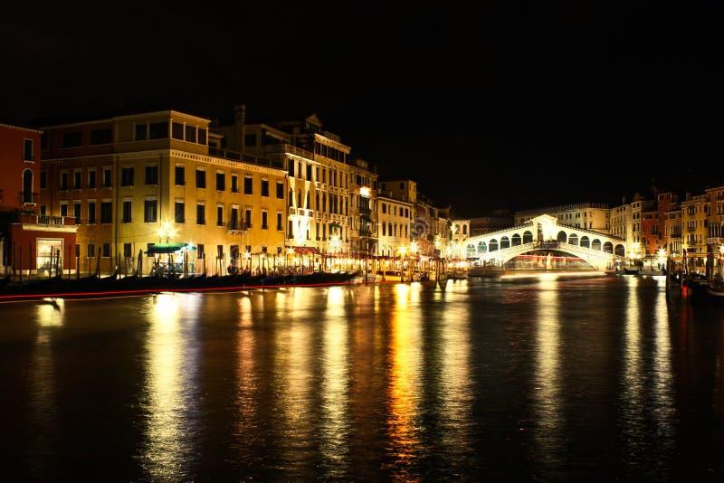 Night In Venice Royalty Free Stock Photo