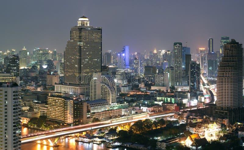 Download Night View Of Bangkok Stock Photo - Image: 12648410