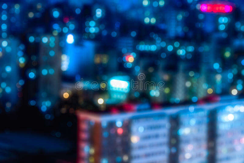 Night view of cityscape in Beijing royalty free stock photo