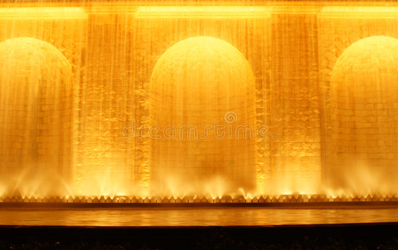 Download Night View Of The Fountain In Monjuic Stock Image - Image: 16835701