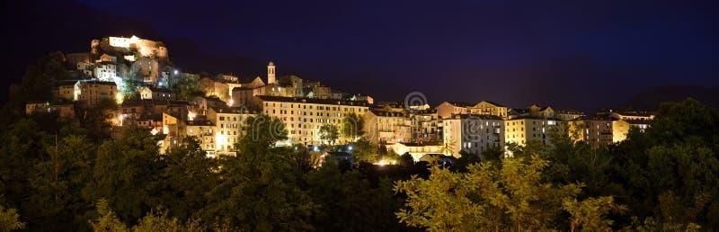 Corte Old Town, Corse, France stock photos