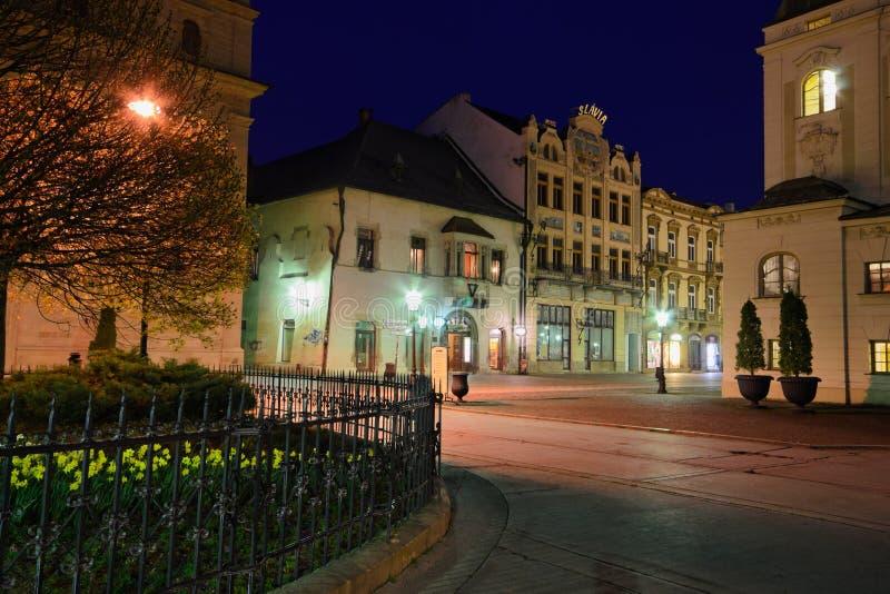 Night view stock photos