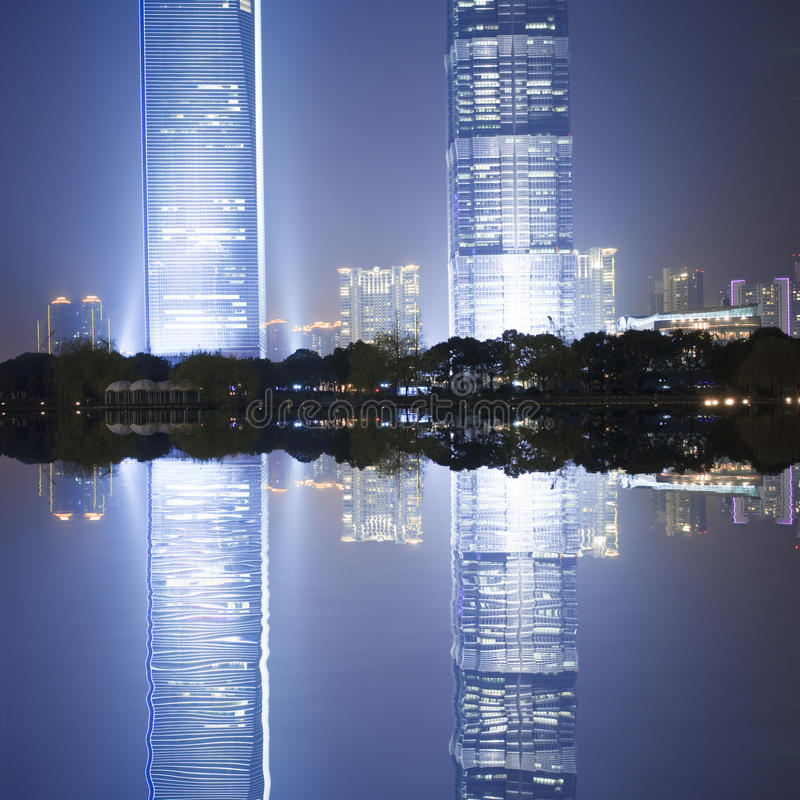 Download Night view of shanghai stock photo. Image of city, night - 13305992