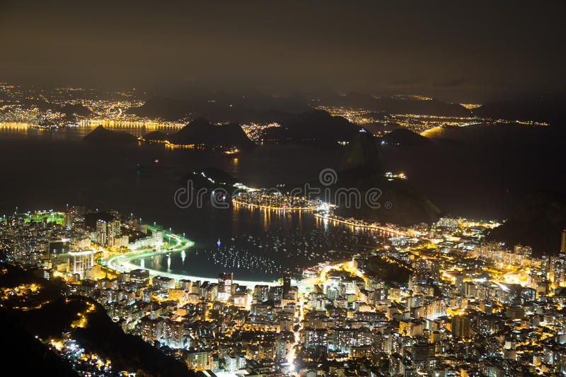 Download Night View Of Sugarloaf In Rio De Janeiro Brazil Stock Images - Image: 36200814