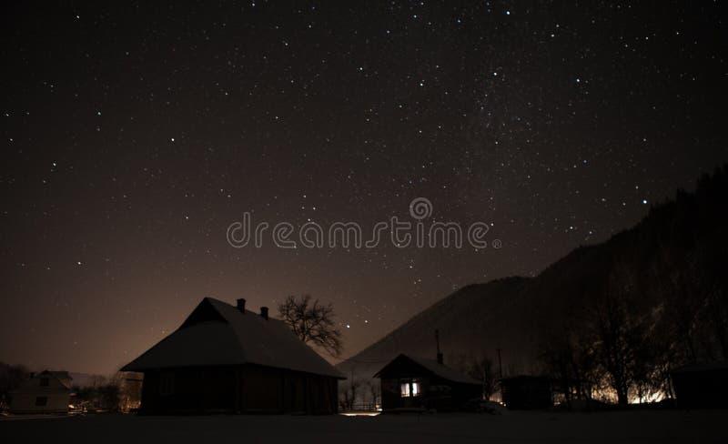 Night village stock images