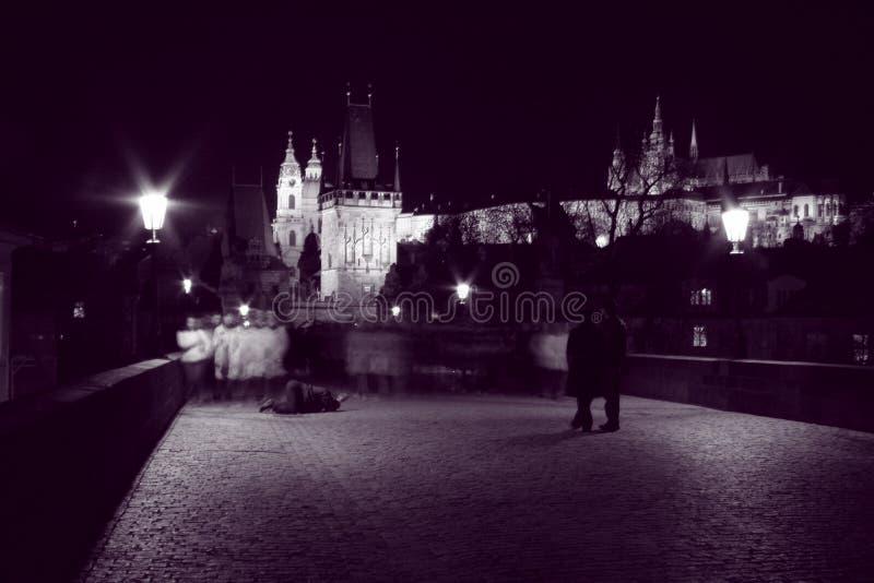 Download Night walks stock photo. Image of night, beggar, purple - 111024