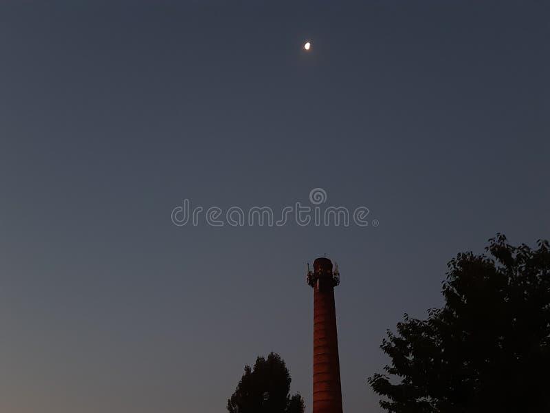 Night walks royalty free stock photography
