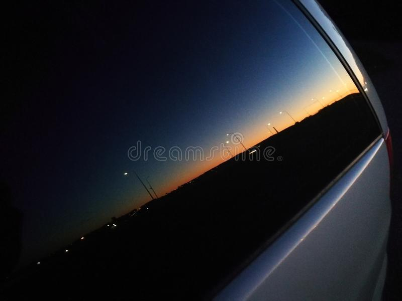 Mirror car stock photography