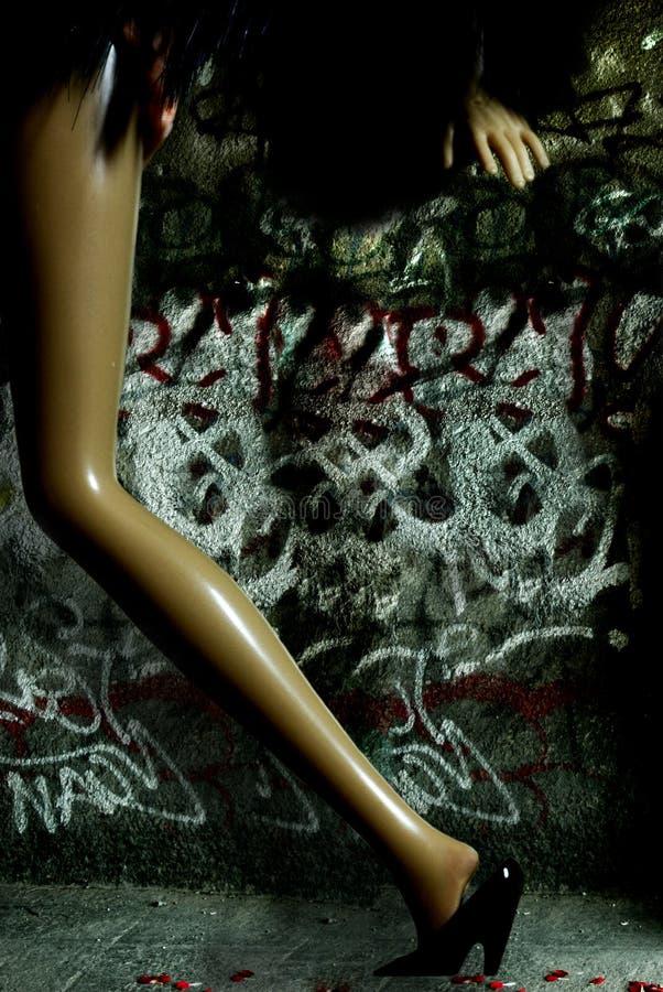 Free Night Woman Stock Photography - 1357712