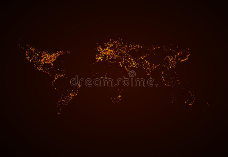 Night world map stock vector illustration of glowing 31872755 download night world map stock vector illustration of glowing 31872755 gumiabroncs Image collections