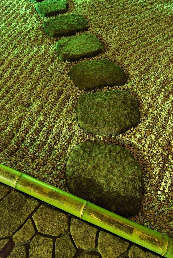 Download Night in zen garden stock image. Image of japanese, turn - 5221333