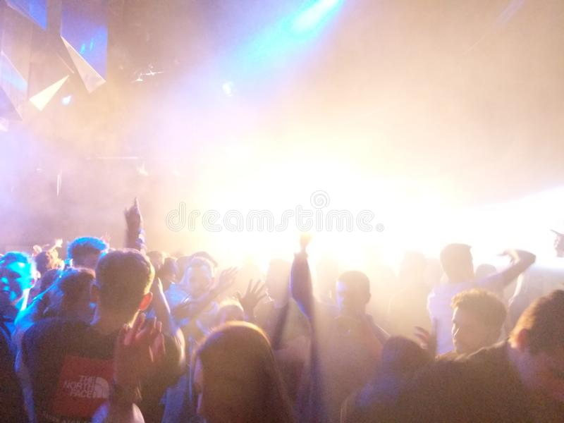 nightclub fotos de stock