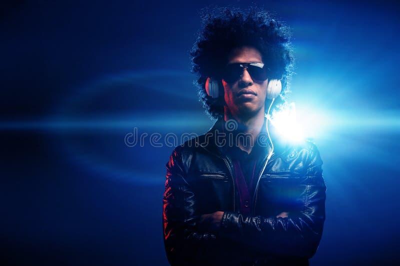 Nightclub dj stock image
