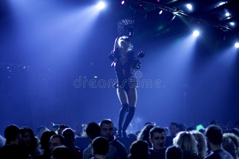 Nightclub party royalty free stock photography