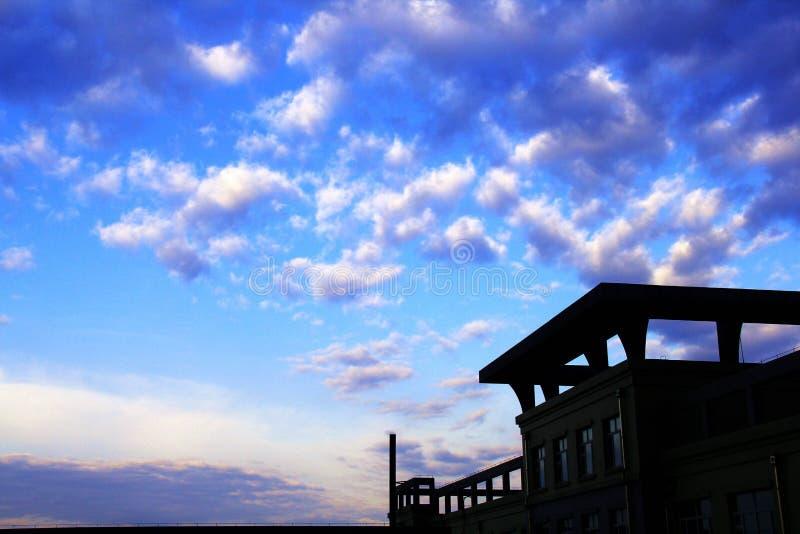 nightfall photographie stock libre de droits
