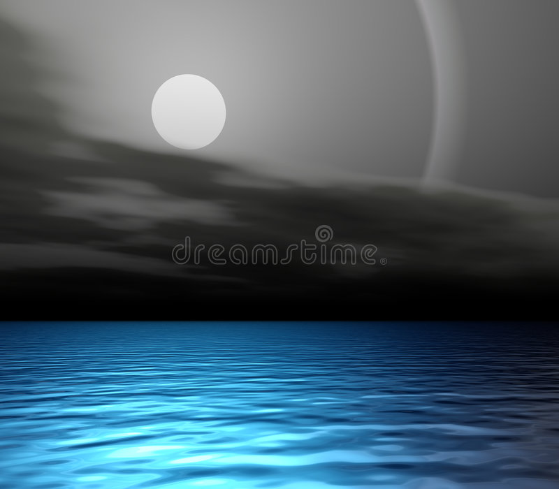 Nightglow stock abbildung