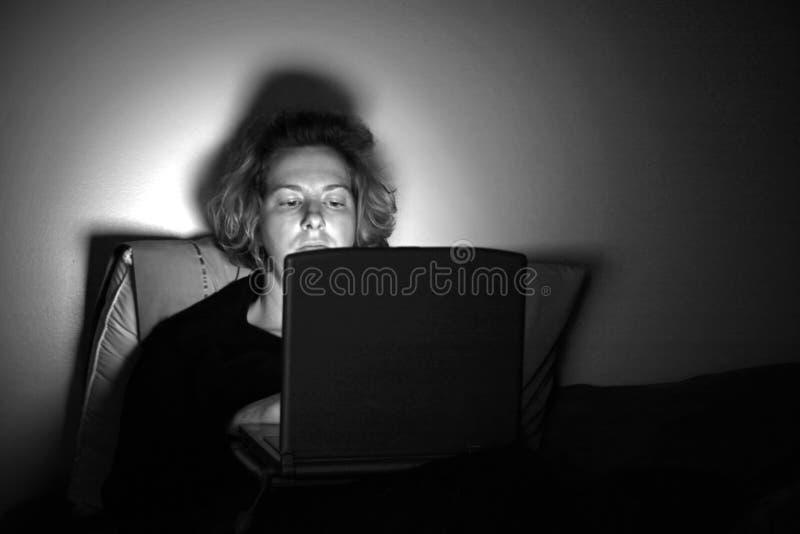 Nightilfe virtuale immagine stock