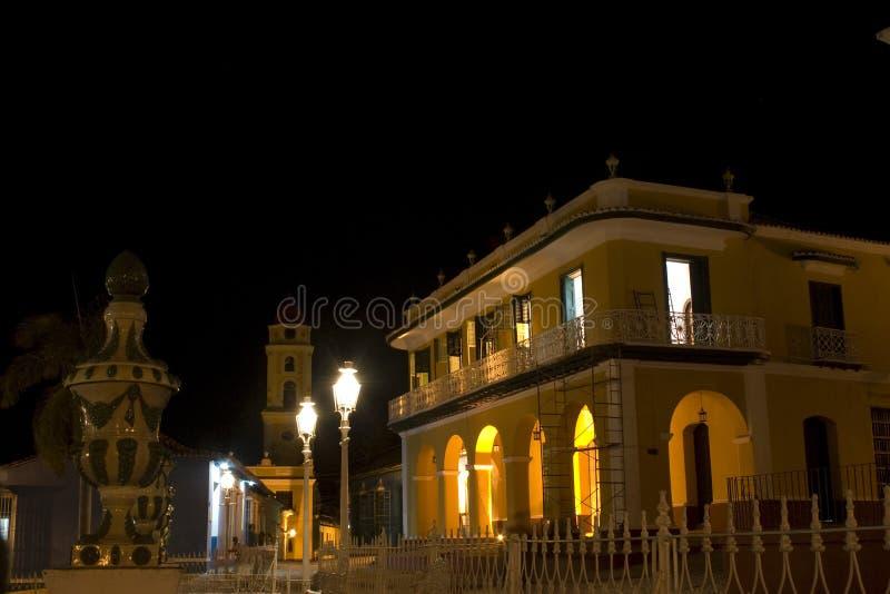 Nightime - Trinidad, Kuba lizenzfreie stockfotos