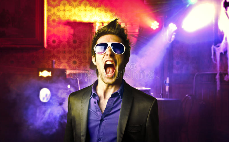 Download Nightlife stock image. Image of young, scream, nightlife - 21872285