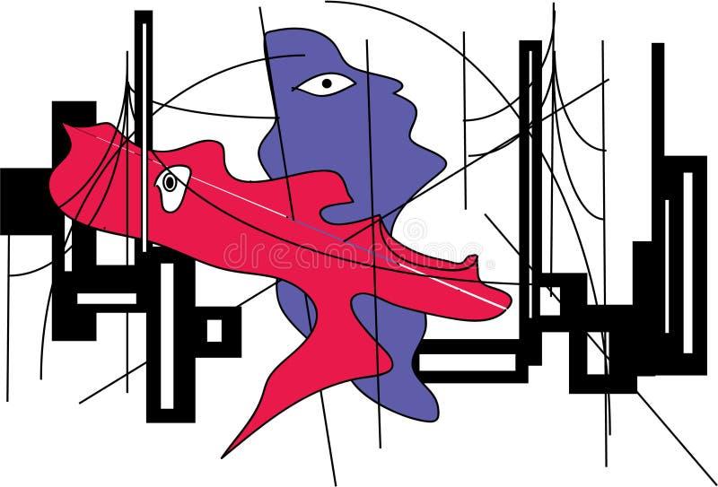 nightlife ilustración del vector