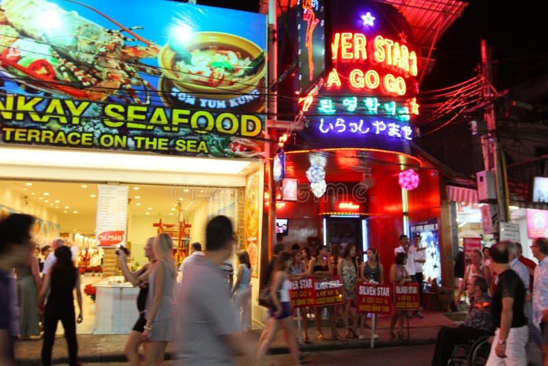 Nightlife in Pattaya, Thailand.