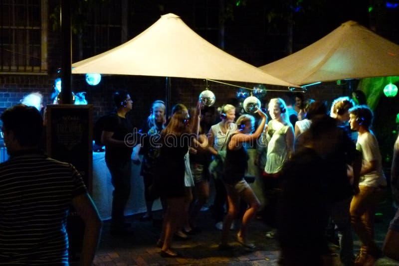 Nightlife Sydney stock image