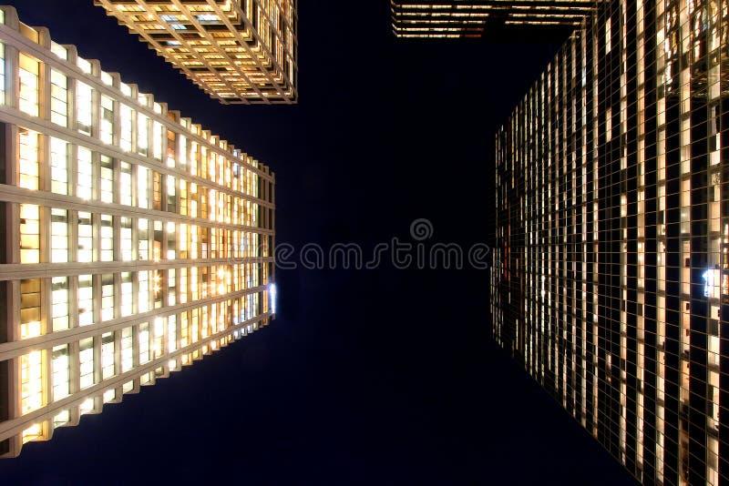 nightlights royaltyfri bild