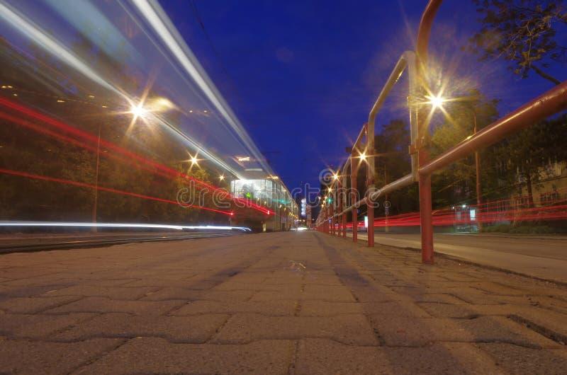 Nightlights de la ciudad fotos de archivo libres de regalías