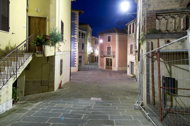 Nightly street view stock photo