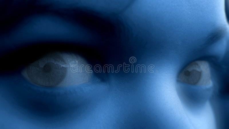 Download Nightmare stock image. Image of woman, scary, issues, face - 8301