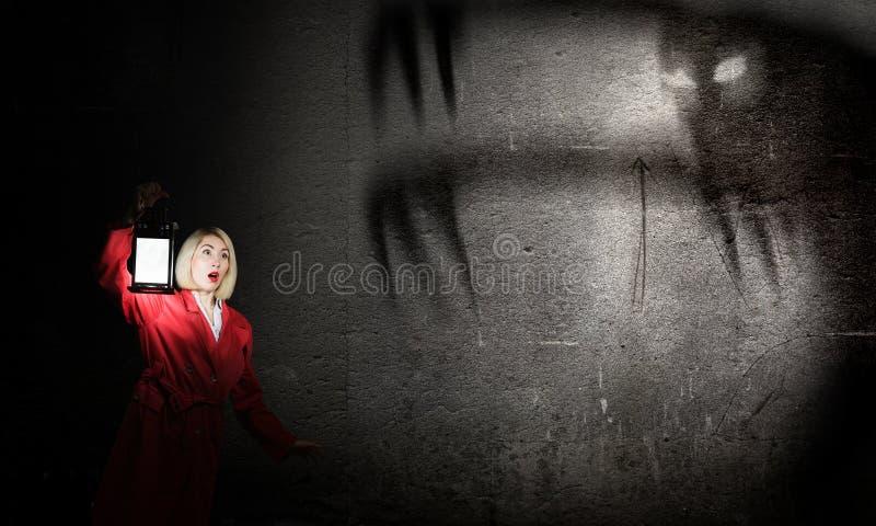 nightmare imagem de stock