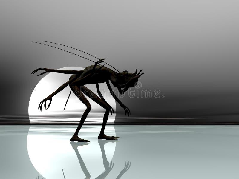Nightmare On Ice vector illustration