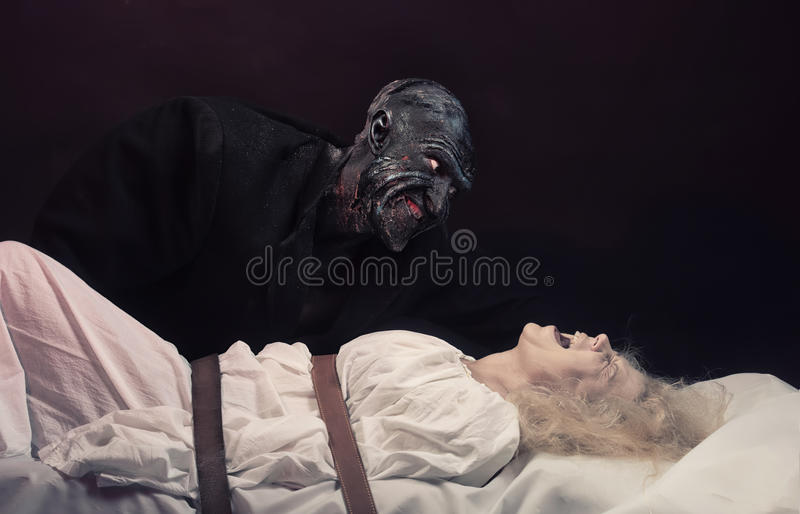 The Nightmare royalty free stock image