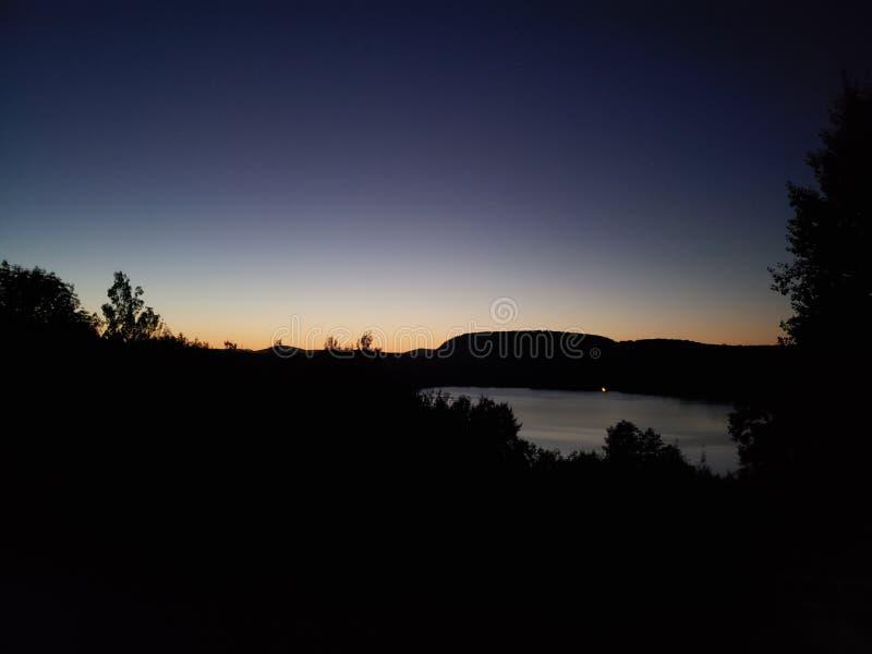Nights in Harrison. Beautiful, beach, sunset stock photo