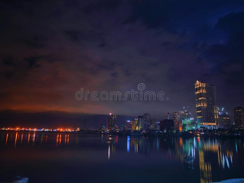 nightscape images stock