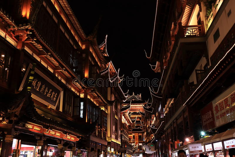 Download Nightscape Of China Historic Town Editorial Stock Image - Image: 33450584