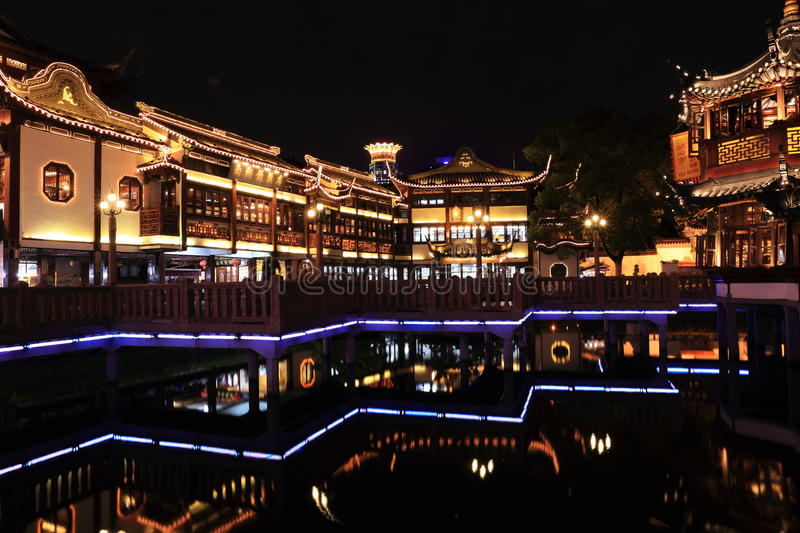 Download Nightscape Of China Historic Town Editorial Stock Photo - Image: 33450593