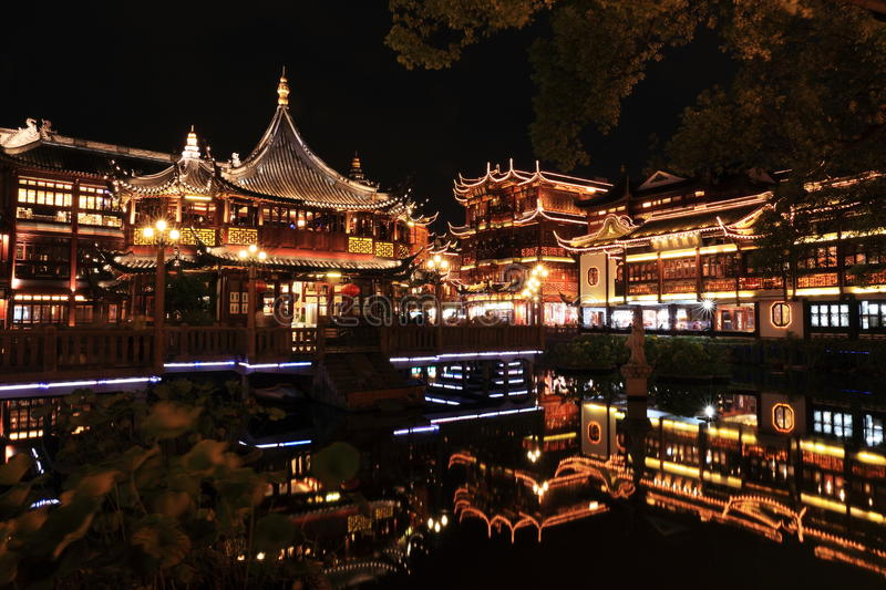 Download Nightscape Of China Historic Town Editorial Photography - Image: 33450622