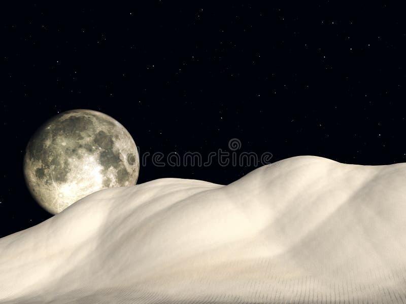 Nighttime 5 vektor illustrationer