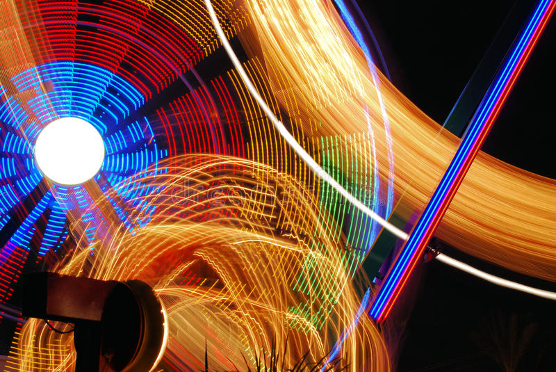 Download Nighttime Carnival Lights stock photo. Image of kids - 10819174