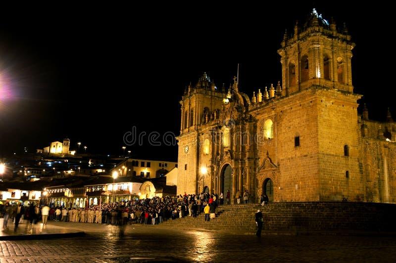 Nighttime em Peru fotografia de stock