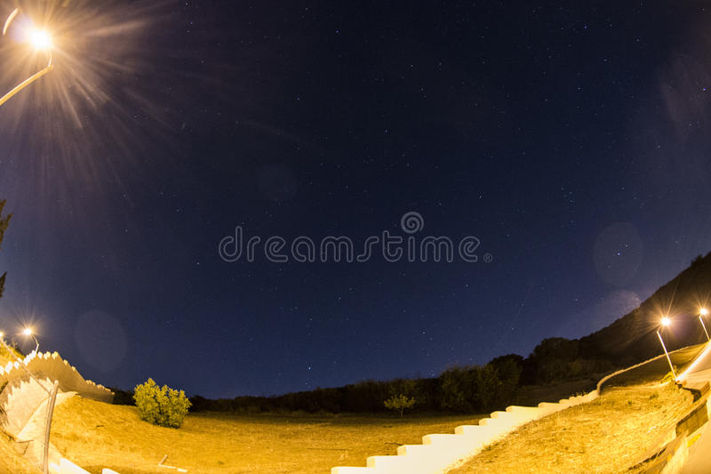 Nighttime royalty free stock image