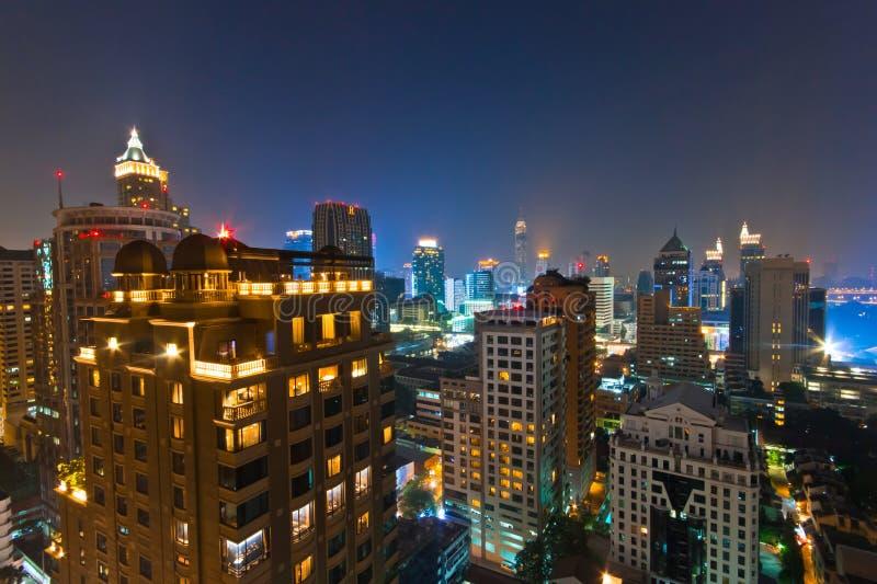 Nighttime Urban Skyline Free Public Domain Cc0 Image