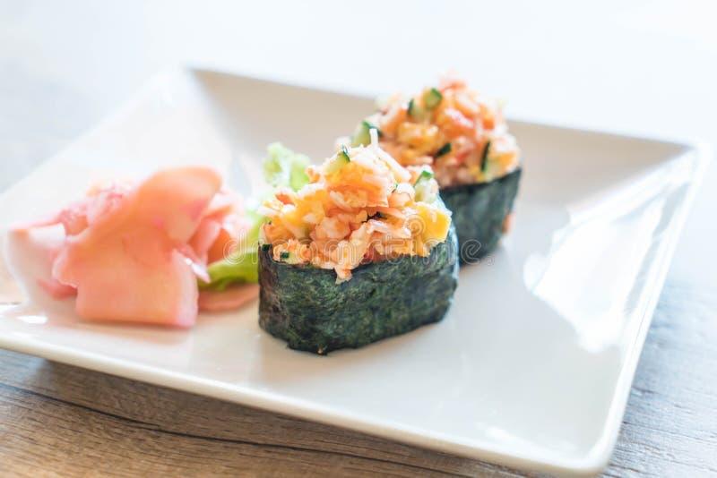 nigiri misto dei sushi immagine stock