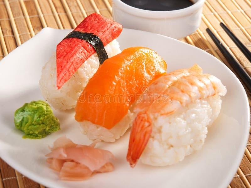 nigiri sushi zdjęcie stock