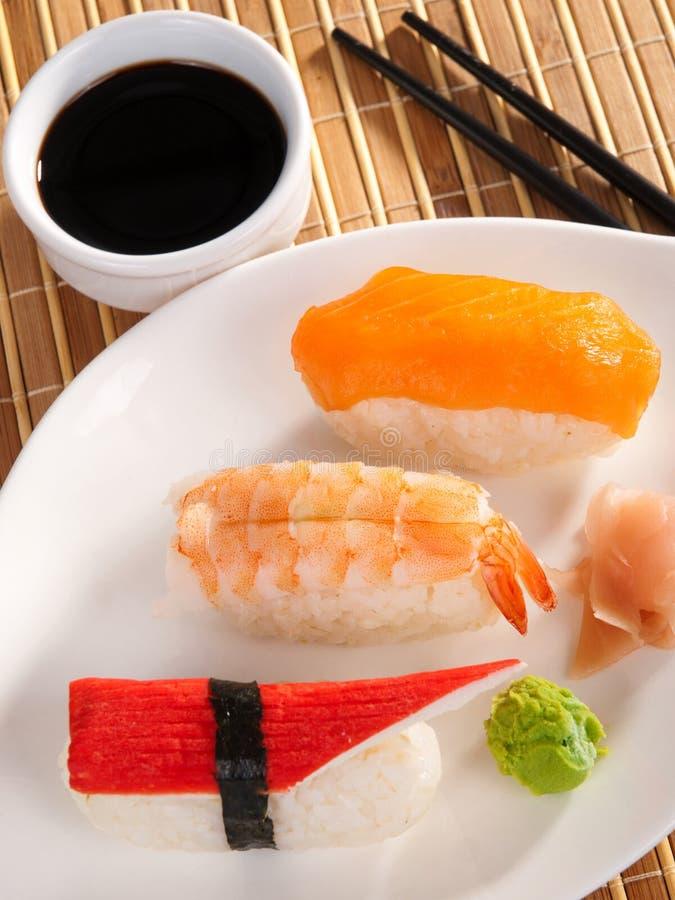 nigiri sushi zdjęcie royalty free