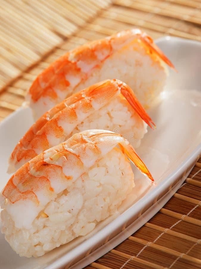 nigiri sushi fotografia stock